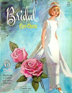 Bridal paper doll