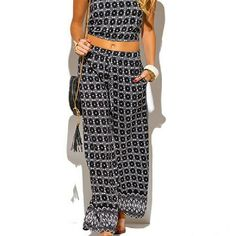 LAST ONE!! BLACK ETHNIC PRINT 2 PIECE SUIT Brand new from vendor never worn Elastic waist pants and elastic at bottom of the shirt Inseam on pants is 30 inches with 28 inch waist. Bell bottom pants Tank top Crop top Made in USA 100% Polyester This super cute and comfy set is a wardrobe essential! Minimalist paired with amazing exclusive printed fabric. Great for vacations, resorts, and the beach.  Can also be dressed up for nights out.  Great for layering with blazers for work. Pants…
