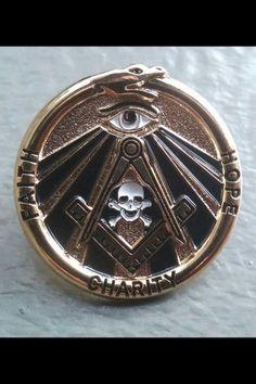 Custom Engraving 25 Masonic Wooden Buttons  Pins
