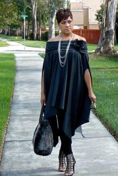 Ebony busty resha