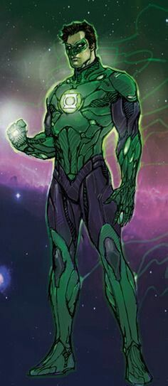 Green Lantern (Hal Jordan).