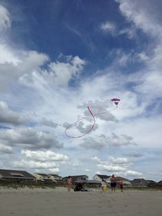 Kite captured. Ocean isle beach, NC 2013.