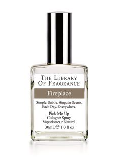 The Library of Fragrance Fireplace 30ml Cologne Spray www.boots.com