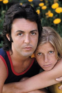 Paul & Linda McCartney for TIME Magazine, 1971 by Henry Diltz.