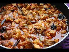Patlıcanlı Özel Soslu Tavuk Tarifi (Kızarmış)
