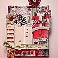 Naughty or Nice List Christmas canvas tutorial