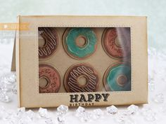 A Box of Doughnuts | Stamp Talk with Tosh | Bloglovin'