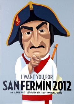Buscando un hashtag oficial en Twitter para San Fermín 2012