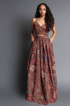 African Print Dresses, African Dresses For Women, African Attire, African Wear, African Fashion Dresses, African Prints, Ankara Fashion, African Clothes, African Style Clothing