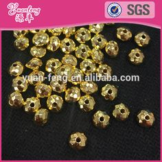 golden color 4mm 6mm 8mm plastic rondelle CCB beads, View CCB beads, Yuanfeng Product Details from Shantou Yuanfeng Industrial Co., Ltd. on Alibaba.com