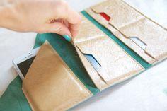 Jade Green wrap wallet