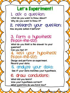scientific method for kids