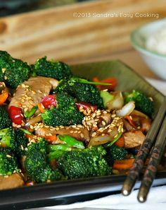 Chinese Broccoli and Pork Tenderloin Stir Fry