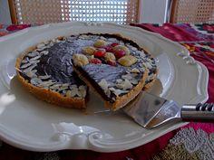 Τάρτα+σοκολάτας+με+μαρμελάδα+κάστανο