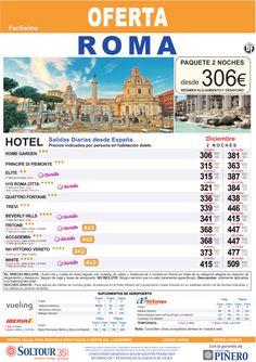 Roma (Avión + Hotel) Salidas diarias desde España - Diciembre ultimo minuto - http://zocotours.com/roma-avion-hotel-salidas-diarias-desde-espana-diciembre-ultimo-minuto/