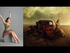 Photoshop CC Tutorials | Photo Manipulation | Girl in desert - YouTube
