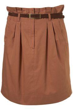 Girls plus size clothing uk paper bag skirt