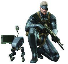 Solid Snake & Metal Gear Mk. II- Metal Gear Solid 4