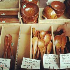 木製スプーン可愛いし安い♡ - @cunsong- #webstagram