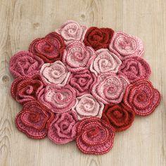 crochet rug mat