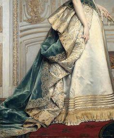 Nadezda Mihailovna Polovcevoya by Charles- Francois Jalabert