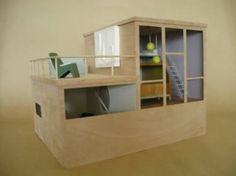 Gidon Bing Resene Architectural Model