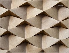 Diamond Corrugation (detail) by garibi ilan, via Flickr