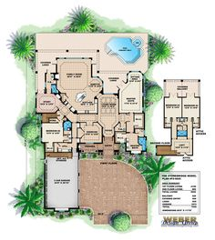 Stonebridge House Plan Amazing house plans! Can wait to build the dream house :)