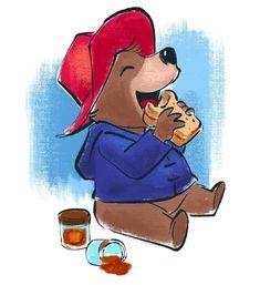 Paddington Bear, Brown Bear, Scooby Doo, Fictional Characters, Art, Illustrations, Art Background, Kunst, Performing Arts
