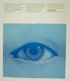 Typographic poster design by Herb Lubalin, circa 1967 Graphic Design Posters, Graphic Design Inspiration, Graphic Art, Design Typography, Vintage Graphic, Signage Design, Poster Wall, Poster Prints, The Wicked The Divine