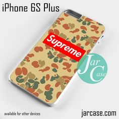 Antique Camo Supreme Phone case for iPhone 6S Plus and other iPhone devices