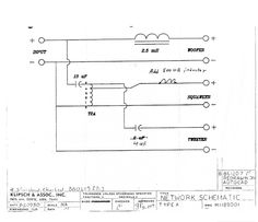 ALK Engineering crossover schematics - Szukaj w Google
