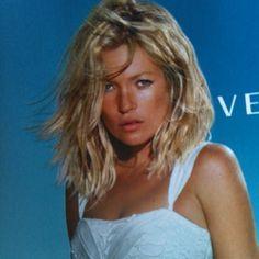 Kate moss Versace love the blonde hair