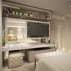 Bedroom Closet Design, Girl Bedroom Designs, Home Room Design, Dream Home Design, Home Decor Bedroom, Modern Small House Design, Beauty Room Decor, Cute Room Decor, Aesthetic Room Decor