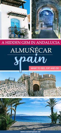11 Ideas De Almuñecar España Mapa De Andalucia Granada España