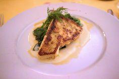 Gericht im Restaurant im Romantik Hotel Schloss Rheinfels St. Goar