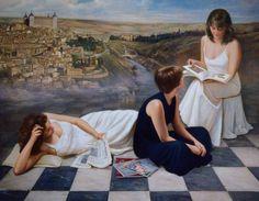 """Saatchi Art Artist Soledad Fernandez; Drawing, """"Toledo"""" #art"""