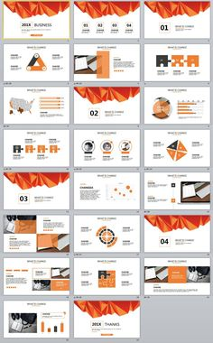 Creative Infographics Annual Report Powerpoint Template