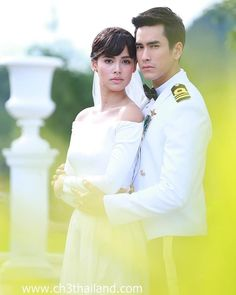 Thai Drama, Sweet Couple, The Crown, Animation Film, Kpop, Traditional Dresses, Cute Couples, Wedding Photography, Actresses