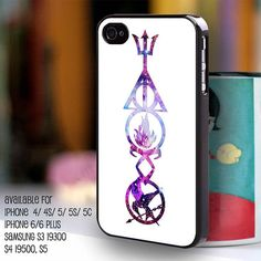 Fandom iphone case... percy jackson, harry potter, divergent, mortal instruments, hunger games... NEED
