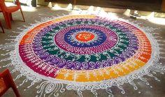 Sanskar Bharti Rangoli Art Designs
