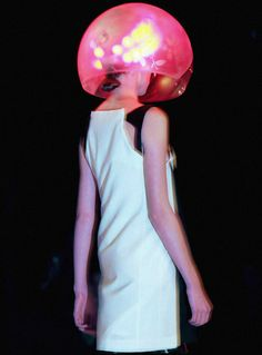 Hussein Chalayan Fall 2007. #wearabletech  Repinned by www.fashion.net