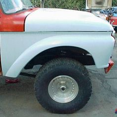 Flared 2 inches with a larger wheel opening. Full bolt on with all flanging around headlight and top mounting edge. 1966 Ford F100, Body Parts, Antique Cars, Larger, Top, Parts Of The Body, Crop Tee, Blouses