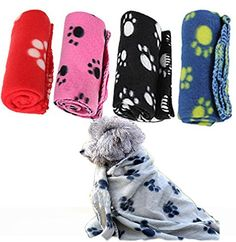 1pc Pets Mat Soft Warm Fleece Print Design Pet Puppy Dog Cat Mat Blanket Bed Sofa Pet Warm Product Cushion Cover Towel To Suit The PeopleS Convenience Home & Garden