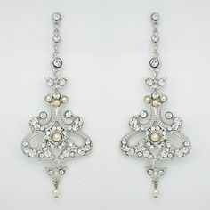 Paris Bridal Earrings | Godfather Waltz Vintage Earrings