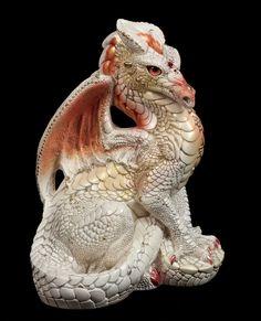 """Windstone Editions """"Peaches Cream 1"""" Male Dragon Figurine Fantasy Statue   eBay #dragons #fantasy #figurine"""