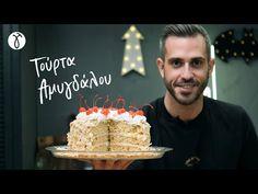 Τούρτα Αμυγδάλου | #ΜηΜασάς by @Giorgos Tsoulis - YouTube Birthday Candles, Birthday Cake, Desserts, Food, Youtube, Tailgate Desserts, Deserts, Birthday Cakes, Essen