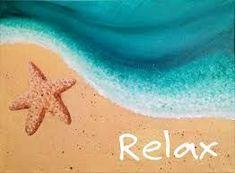 New painting beach scenes easy 29 ideas Beach Canvas Paintings, Easy Canvas Painting, Easy Paintings, Diy Painting, Canvas Wall Art, Shell Painting, Scenery Paintings, Beach Scene Painting, Summer Painting