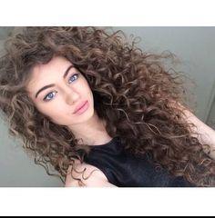 #best_curls #beautiful_hair_color #cute_makeup .. ❤it