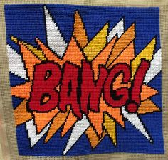 Modern Tapestry: Unique Handmade BANG! Sampler